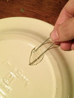 Little Bit of Paint: How to Hang Plates on the Wall