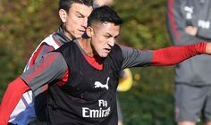 Alexis Sanchez and Mesut Ozil look sharp in Arsenal training  as injured defender returns   via Arsenal FC - Latest news gossip and videos http://ift.tt/2yQ90Bh  Arsenal FC - Latest news gossip and videos IFTTT