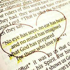 Love God 1 st Corinthians Chapter 2 vs 9