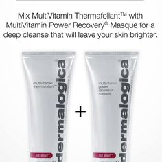 Get your glow on with Dermalogica! Try this great tip for cleaner, brighter looking skin. Dermalogica AGE Smart MultiVitamin Thermafoliant - http://www.facialcompany.com.au/Shop/file/Product/cat/138/pid/16/brand/7/Dermalogica-Age-Smart-Multivitamin-Thermafoliant.htm Dermalogica AGE Smart MultiVitamin Power Recovery Masque - http://www.facialcompany.com.au/Shop/file/Product/cat/148/pid/20/brand/7/Dermalogica-Age-Smart-Multivitamin-Power-Recovery-Masque.htm