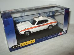 New VA13304 Ford Capri Mk1 3000GT Thames Valley Police Diecast in 1:43 scale