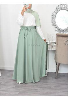 Modest Fashion Hijab, Modesty Fashion, Skirt Fashion, Fashion Dresses, Muslim Women Fashion, Islamic Fashion, Mode Abaya, Mode Hijab, Hijab Fashion Inspiration