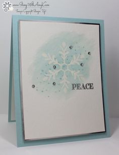 Stampin' Up! Holly Jolly Greetings Watercolored