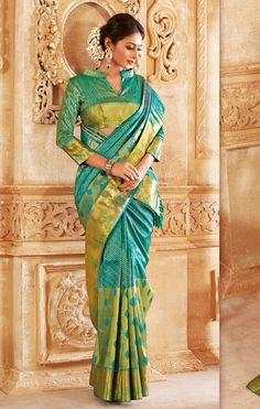 Vivaha Branded Wedding Silk Saree VBBS5011