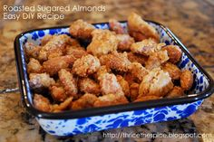 Roasted Candy Almonds