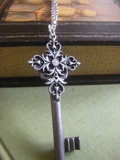 18th Century Antique Key Necklace  authentic by CHAiNGEthesubject, $37.00