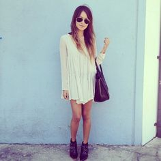 Sincerely Jules: Cream Dress Boots