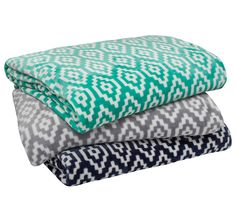 Chelsea BAMBURY - FEATURES: Polyester, Ultraplush flannel fleece, Printed geometric design, Silky smooth and luxurious against the skin - Quilt Cover, King Size, Bed Sheets, Flannel, Blankets, Chelsea, Ottoman, Cushions, Range