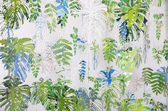 Anne Stevens #floraldesign #print #pattern #green #plants #3d #lichting2015 #dutchdesign #youngtalent #stylink