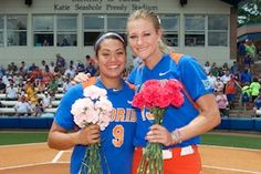 Florida beat the Tigers following Senior Day ceremonies honoring Stephanie Tofft and Hannah Rogers.