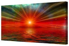 Canvart Abstract Red Sea Horizon Panorama Canvas Print Fr... https://www.amazon.co.uk/dp/B01E5LZ7SO/ref=cm_sw_r_pi_dp_x_vtVsybFKCKT1T