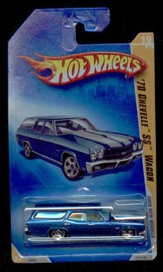 Hot Wheels 2009-19/42 '70 Chevelle Ss Wagon 019/190 Newmodels 1:64 Scale by MATTEL. $1.45