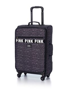 """$99.95  Carry-On Bag  Front pockets, interior mesh pocket and two side mesh pockets Elastic straps with buckle 14""""L x 21""""H x 9"""" W Imported polyester"""