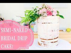 WHITE CHOCOLATE BRIDAL SHOWER CAKE!