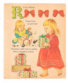 Picture Book Page - 1962 : Golden Book - The Christmas ABC's