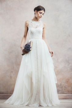 Wedding Dress of the Day: Incredibly Romantic Gowns from Divine Atelier 2014 Part I. To see more: http://www.modwedding.com/2014/09/17/wedding-dress-day-incredibly-romantic-gowns-divine-atelier-2014-part/ #wedding #weddings #wedding_dress