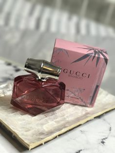 Gucci Bamboo Limited Edition Fragrance Packaging