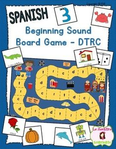 Beginning sound recognition initial sound word sort d t r c beginning sound recognition initial sound board game dtrc spanish ccuart Image collections