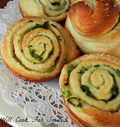 Recipe for Chive Garlic and Herb Rolls - These were so popular with my boys that I've made the rolls a few more times since then! They are quick, easy and wonderful with any meal!