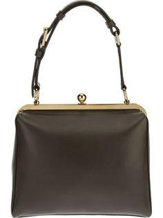 DOLCE and GABBANA Large 'Agagta' Shoulder Bag