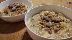 """Porridge à la """"Apfelstrudel"""", ein gutes Rezept aus der Kategorie Herbst. Bewertungen: 4. Durchschnitt: Ø 4,2."""