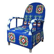 Yoruba Glass Beaded Chief's Throne. This is an antique from Nigeria.