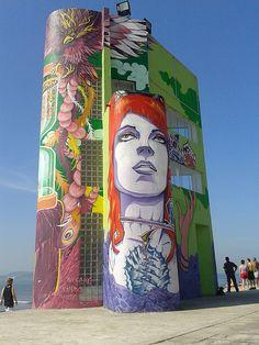 Graffiti Santos #arteurbana #urbanart #streetart #artederua #graffiti