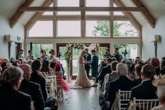 Ceremonies in the Buddon Burn Suite. Photograph by Burfly Photograph.