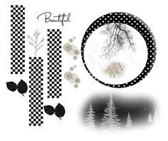 """White Fox"" by keepsakedesignbycmm ❤ liked on Polyvore featuring art"