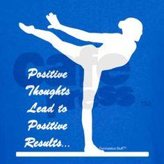 Gymnastics T-Shirt - Positive Kids Dark T-Shirt on CafePress.com
