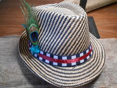 The HOUNDSTOOTH FEDORA Collection.Tie Fly Boutonniere by TieFly, $144.99