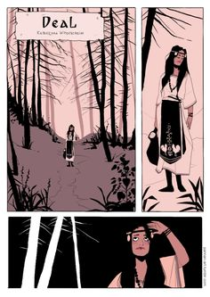 """Deal"" by Katarzyna ""Panna N."" Witerscheim (2015), story of the first witch - based on Slavic Mythology."