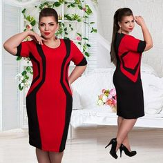 2016 Summer style casual geometric dress  half sleeve mid-calf o-neck for woman sexy plus size on hot sale♦️ SMS - F A S H I O N 💢👉🏿 http://www.sms.hr/products/2016-summer-style-casual-geometric-dress-half-sleeve-mid-calf-o-neck-for-woman-sexy-plus-size-on-hot-sale/ US $11.68