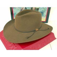 Stetson Cowboy Hat 4X Beaver Fur Acorn Carson Pinch 4371ca6114ff
