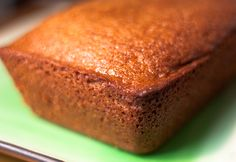 No spices, no distraction, just a simple, moist, fluffy Rosh Hashanah honey cake. Adapted from Marcy Goldman's Treasure of Jewish Holiday Baking.