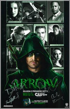 Arrow Cast Members Check-in to Arrow on http://getglue.com/tv_shows/arrow?s=tu&ref=OriginalsbyItalia