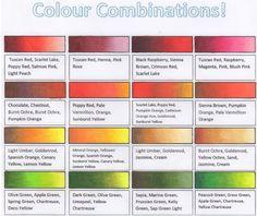 Prismacolor, Copics, Colored Pencil Tutorial, Colored Pencil Techniques, Blending Colored Pencils, Color Blending, Color Mixing Chart, Color Combinations, Coloring Tips