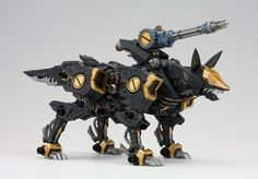 ZOIDS HMM Series 1/72 RZ-046 Shadow Fox