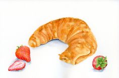 Strawberry Croissant