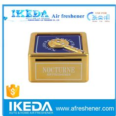 14 years of professional experience in OEM car perfume factory,accept custom perfume for car