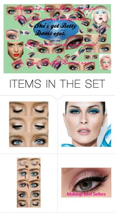 """""""Blue Eyed Girl: She's got Betty Davis Eyes"""" by bluehatter ❤ liked on Polyvore featuring art"""