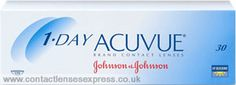 1 Day Acuvue Contact Lenses from Johnson & Johnson