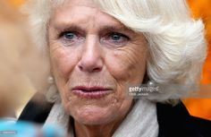 Camilla, Duchess of Cornwall cries with laughter during a visit to the Pasty Museum in Real del Monte on the 'Day of the Dead on November 2, 2014 in Hidalgo,Mexico. The Royal Couple are on the first day of a four day visit to Mexico as part of a Royal tour to Colombia and Mexico.  (Photo by Chris Jackson/Getty Images)