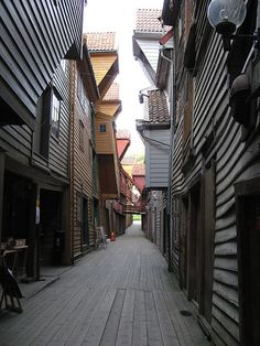 Bryggen, Bergen, Norway...I loved the smell of this place...old wood full of ancient energy.  I thought about my ancestors, many generations removed, that walked here before me.