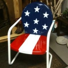 Love the red white and blue.