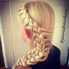Mermaid braid by Jenni's Hairdays Merenneito letti