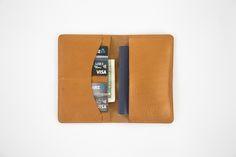 The Shimokitazawa Passport Wallet - The Minimal Unisex Small Leather Travel Accessory Made To Last