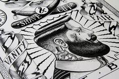 Hello Shane es el seudónimo de este ilustrador francés que tiene ese estilo tattoo que tanto me gusta en sus ilustraciones.No tiene un extenso portfolio, pero merece la pena disfrutar de cada pieza, especialmente de su proyecto SHA-NE. Podéis visitar…
