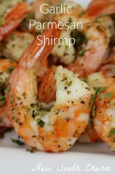 Parmesan Shrimp Garlic Parmesan Shrimp is ready in about 20 minutes and is perfect for a fast dinner or easy appetizer.Garlic Parmesan Shrimp is ready in about 20 minutes and is perfect for a fast dinner or easy appetizer. Fish Recipes, Seafood Recipes, Keto Recipes, Dinner Recipes, Cooking Recipes, Healthy Recipes, Shrimp Recipes Easy, Recipes With Cooked Shrimp, Shrimp And Scallop Recipes