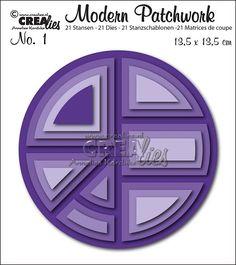 Modern Patchwork stansset no. 1 / Modern Patchwork die set no. 1